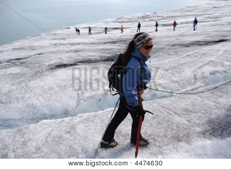 Glacier Hiking