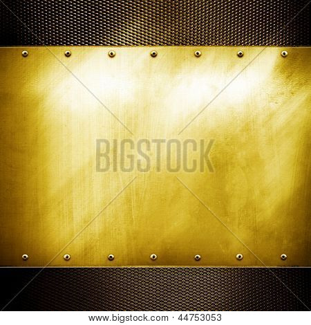 goldenen Platte