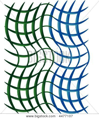 Basket Weave Background Illustration