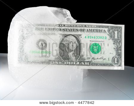 Frozen Or Defrosting Us Currency