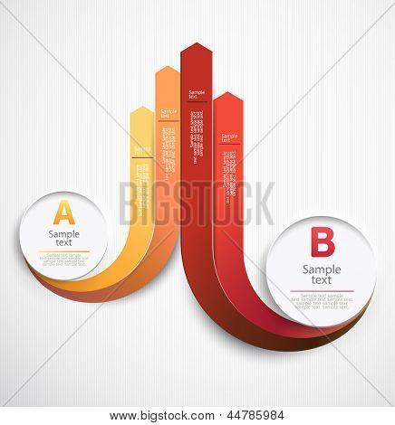 Elements of infographics.