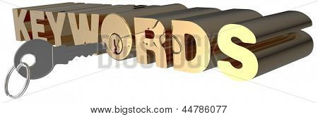 Keywords key open search shiny gold lock cylinder