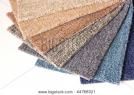 Photo of Carpet samples