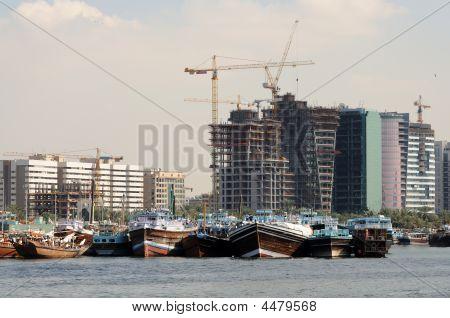 Construction Site At Dubai Creek