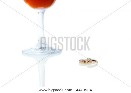 Wine Cup With Rings