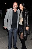 NEW YORK, NY - APRIL 16: Actor Jean Reno and Zofia Borucka attend Vanity Fair Party for the 2013 Tri