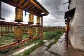 stock photo of ulaanbaatar  - Erdene Zuu Monastery in Karakorum ancient capital of Mongolia - JPG
