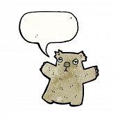 image of wombat  - cartoon wombat - JPG