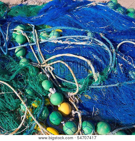 Formentera Balearic Islands fishing tackle nets longliner trawler trammel