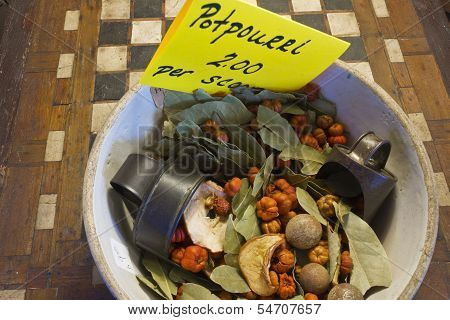 Bowl Of Holiday Potpourri