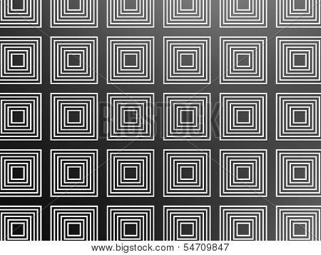 Black square pattern