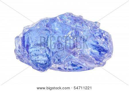 Uncut Blue Tanzanite