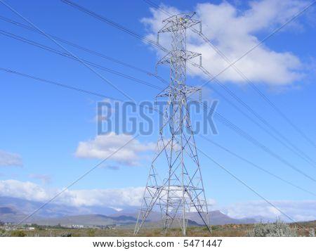 Pylon And Blue Sky