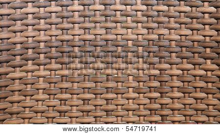 Sepia basket weave pattern. Vignette.
