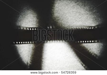 35Mm Film Shadow