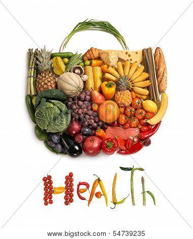 Health food handbag