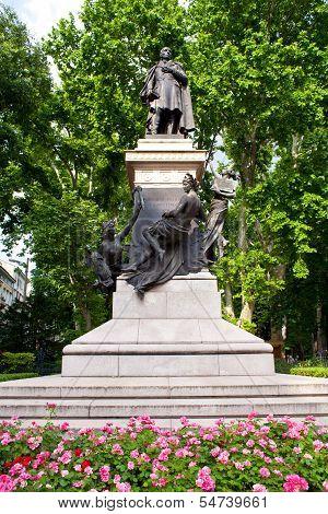 Domenico Rossetti Monument, Trieste.