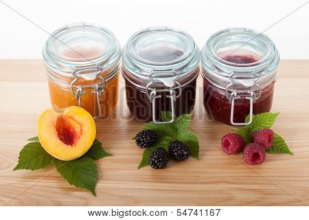 Homemade Traditional Recipe Jams