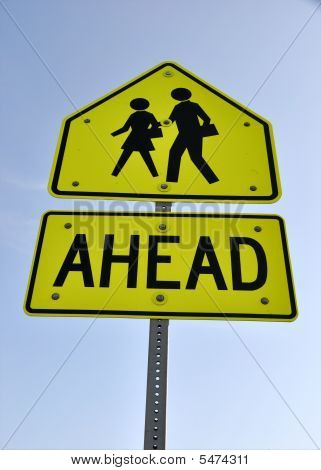 Warning Sign - School Children Crossing