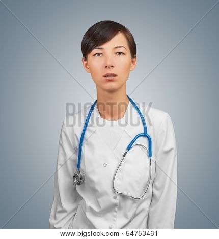 Astonished Doctor