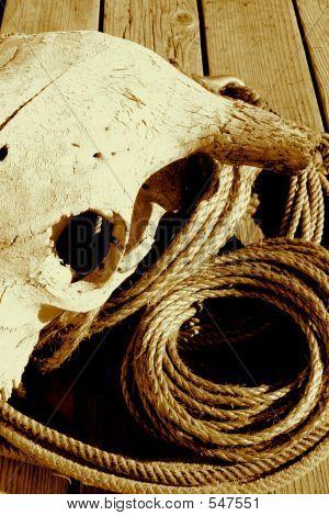 Rope Pile 5 Sepia
