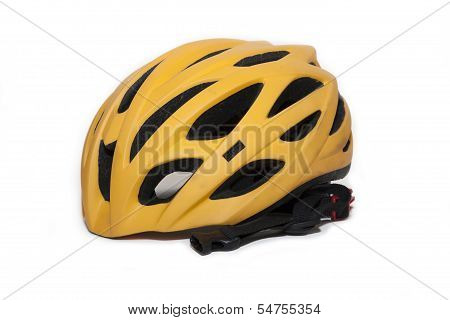 Bicycle Helmet In Side View