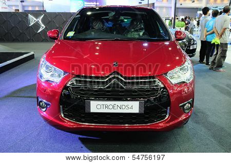 Bkk - Nov 28: The Citroen Ds4 On Display At Thailand International Motor Expo 2013 On Nov 28, 2013 I