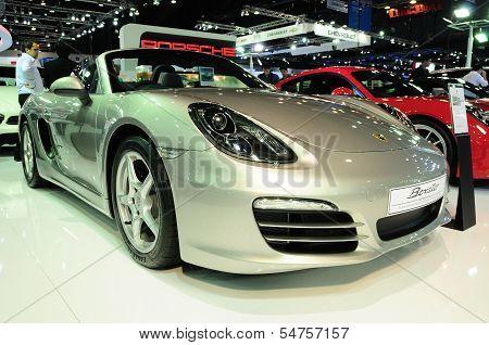 Bkk - Nov 28: Porsche Boxster On Display At Thailand International Motor Expo 2013 On Nov 28, 2013 I