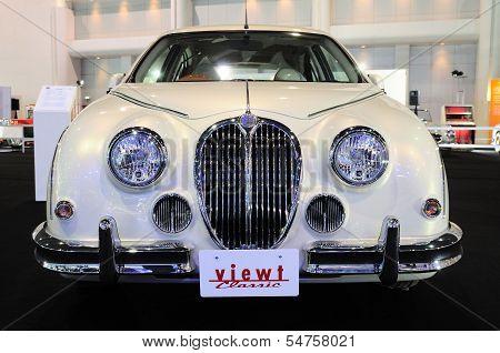 Bkk - Nov 28: Mitsuoka View-t, Vintage Design Car, On Display At Thailand International Motor Expo 2