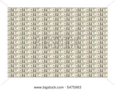 Lots Of Hundred Dollar Bills