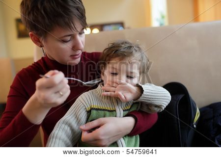 Son Refuses To Eat