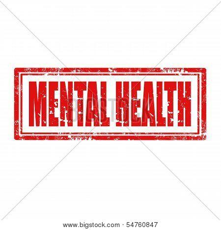 Mental Health-stamp
