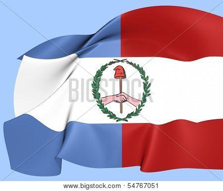 Flag Of Entre Rios