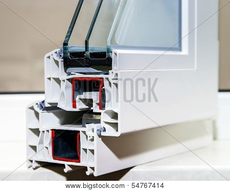 Pvc Profile System For Windows