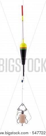 Fishing Bobber, ?ehnoplankton Bait For Catching Silver Carp.(clipping Path)