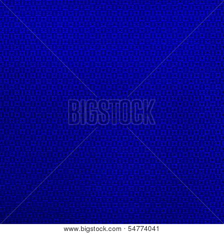 Fabric Blue Textured Background