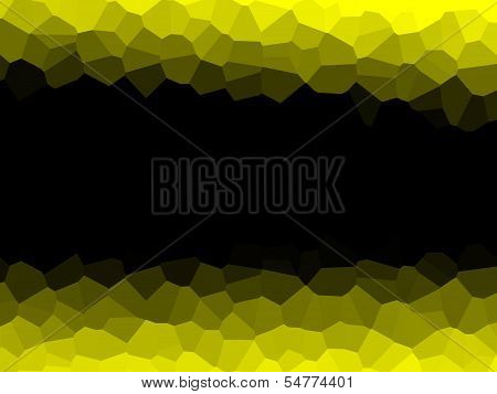Background With Yellow Borders