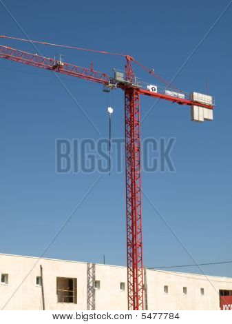 Crane - On Building Site