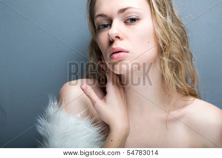 Pretty woman portrait