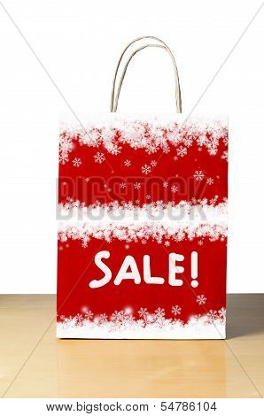 Snowy Winter Sale Bag