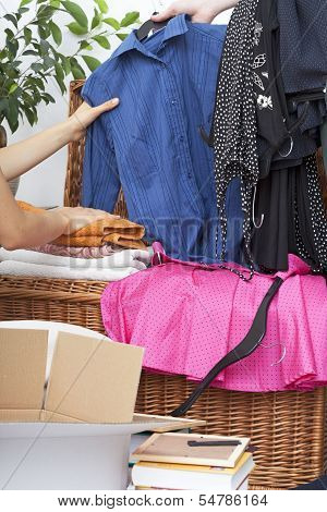 Clothing Pieces Packing