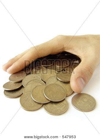 Hand Over Coins