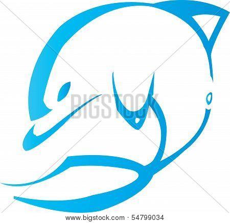 Blue Dolphin tribal