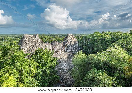 Ruins Of Becan, Yucatan, Mexico