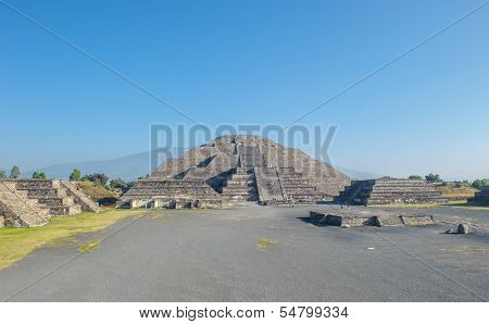 Moon Pyramid In Teotihuacan, Mexico
