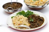 foto of biryani  - Methi gosht or fenugreek lamb - JPG