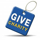foto of generous  - Give charity button donate raise money to help donate gifts fundraising give a generous donation or help with the fundraise - JPG