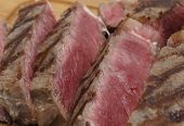 stock photo of ribeye steak  - Partly - JPG