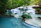 Waterfall In The Erawan National Park