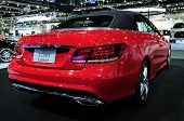 BKK - NOV 28: The new Mercedes Benz E-class cabriolet on display at Thailand International Motor Exp